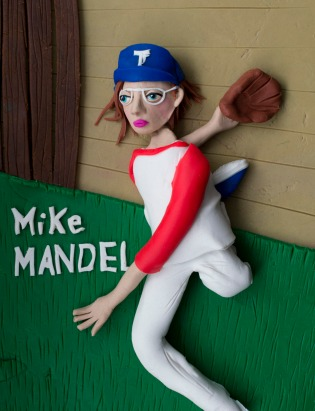 Original photograph: 'Mike Mandel' from 'Baseball Photographer Trading Cards', 1974 by Mike Mandel
